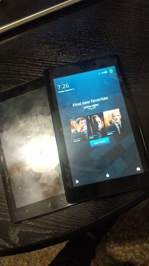 """2 Amazon Fire HD 8 Tablet (8"""" HD Display, 16 GB) - Black for Sale in El Sobrante, CA"""