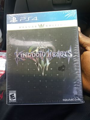 Kingdom hearts 3 deluxe edition for Sale in Riverside, CA