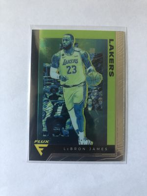 2019-20 Chronicles Flux LeBron James Base No. 591 Lakers for Sale in Ontario, CA