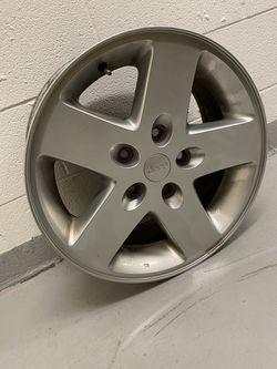 "2007-2017 Jeep Wrangler 17"" Wheel OEM Original Silver- Set Of 5 for Sale in Schaumburg,  IL"