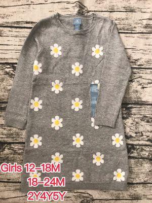 NWT Gap Girls 18M24M2Y4Y5Y Flower Sweater Dress for Sale in Los Angeles, CA