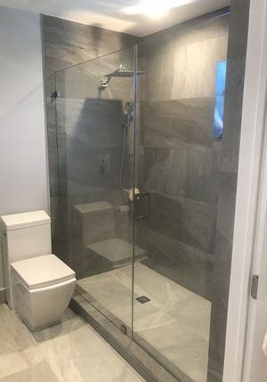 Frameless shower door per sqft with hardware for Sale in Homestead, FL