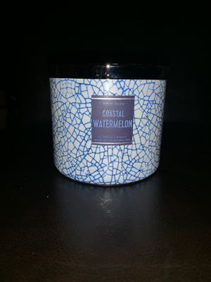Bath and Body Works 3 wick candle for Sale in Los Angeles, CA