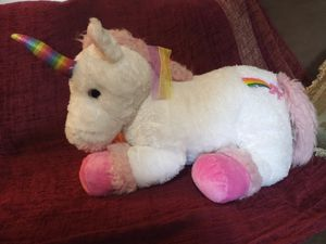 XL stuffed unicorn for Sale in Akron, OH