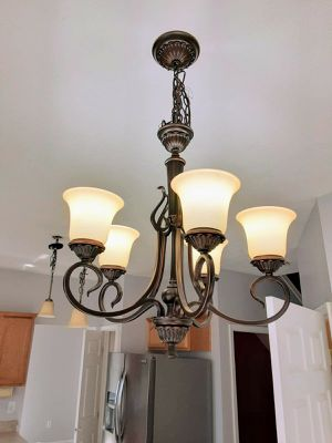 Chandelier and lights for Sale in Columbus, OH