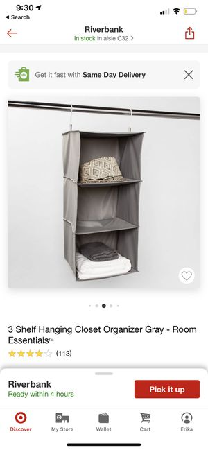 Closet organizer for Sale in Riverbank, CA