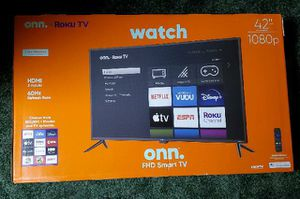 "42"" Onn Roku Tv Brand New, Not used for Sale in Wichita, KS"