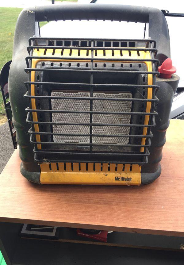 Mr. Heater propane heater and blower