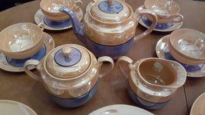Vintage luster Japanese teapot set for Sale in Kingsley, PA