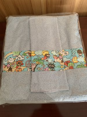 Kids Towel/ Wash Cloth Set- 2 designs avail —New for Sale in Vancouver, WA