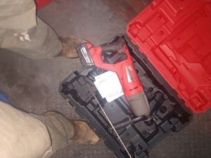Hammer Drill 18v Fuel with charger and battery for Sale in Riner, VA