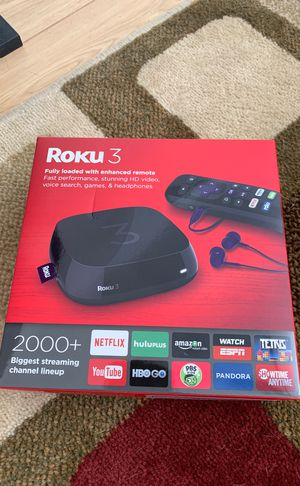 Roku 3 4230R for Sale in Las Vegas, NV