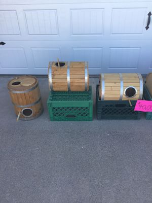 Nesting Boxes / Bird / Parrot / Custom Wooden Barrels for Sale in Mesa, AZ