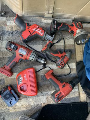 Milwaukee cordless tools for Sale in Baxter, MN
