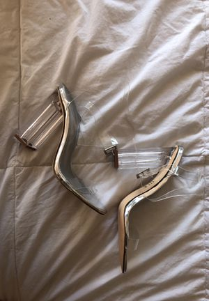Clear heels for Sale in Woodbridge, VA