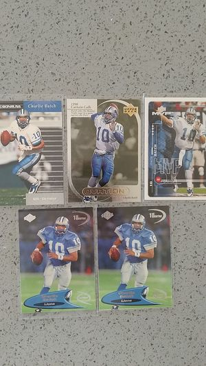 Charlie Batch football cards for Sale in South San Francisco, CA
