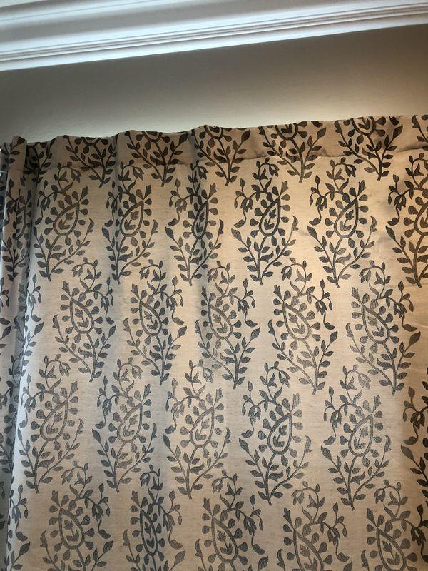 "Window Curtain Panels (4 Panels) 52"" x 84"""