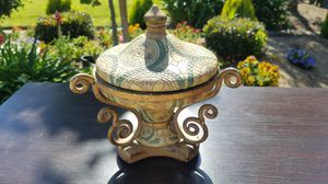 Candy jar with lid for Sale in Modesto, CA