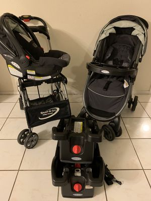 Graco Click Connect Baby Stroller and car seat set for Sale in Pearland, TX