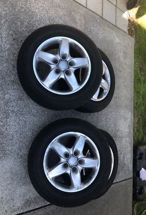 235/65r18 Audi/VW rims and Tires for Sale in Kent, WA
