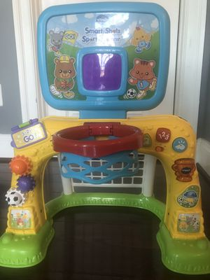 Kids basketball hoop, activity stand from vtech for Sale in Aldie, VA