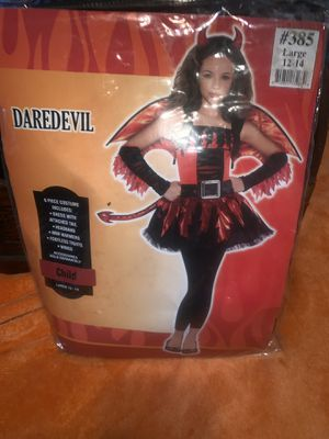 DareDevil Costume 12/14 girls for Sale for sale  Mountain Center, CA