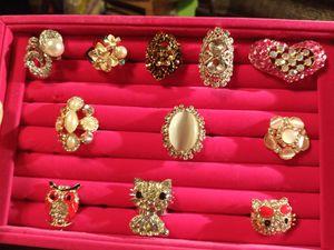 $5 ea or 2/$8-Adjustable rings w/bling for Sale in Ocoee, FL