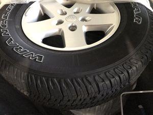 Jeep Wrangler original parts -tire/rim/suspension for Sale in Orlando, FL