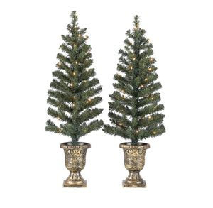 2 Christmas Trees Decoration House Fireplace Porch Kitchen Dining Living Room Furniture Bedroom for Sale in Las Vegas, NV