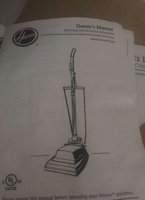 Hoover commercial upright vacuum for Sale in High Point, NC