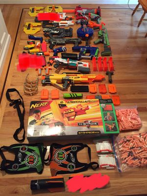 Huge lot of nerf guns for Sale in Los Altos, CA