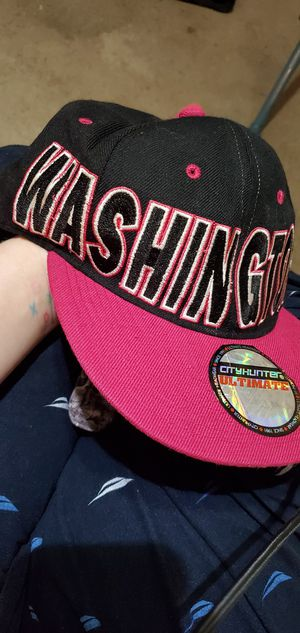 Black and pink Washington DC snapback hat for Sale in Newport News, VA