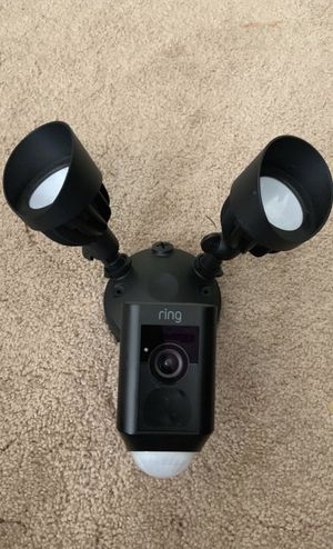 Ring floodlight camera new open box original price $199 for Sale in Los Angeles, CA
