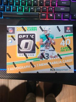 2020 Donruss Optic Football NFL Mega Box- Factory Sealed for Sale in Chicago,  IL