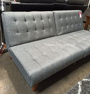 NEW, Adjustable Sofa Futon, Blue Gray, SKU#TCF8501 for Sale in Santa Ana, CA