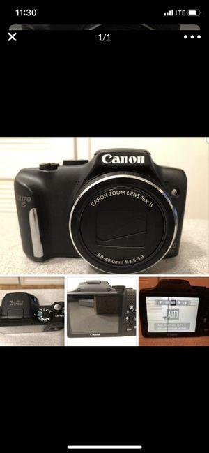 Cannon camera for Sale in Grand Prairie, TX