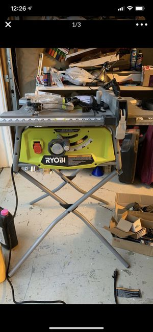 "Ryobi 10"" table saw for Sale in Indian Land, SC"