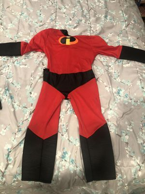 Dash costume from the incredibles movie for kids size 3-4 for Sale in South Pasadena, CA