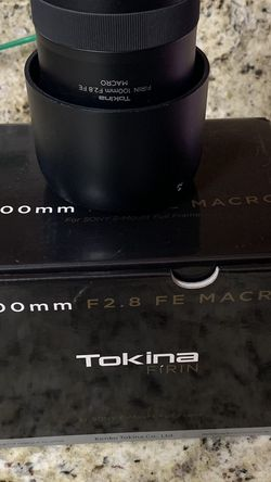 Tokina Firin 100mm 2.8 Macro Sony E for Sale in Fort Worth,  TX