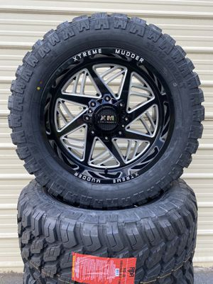 """20"""" Ford ,Chevrolet wheels with MT Tires 33x12.50R20 for Sale in Mableton, GA"""