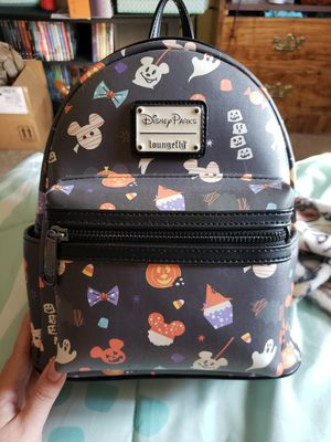 Disney Parks Halloween Snacks Loungefly Backpack for Sale in Fresno, CA