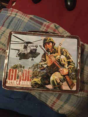 Original 1964 G.i.joe action marine lunchbox for Sale in Portland, OR