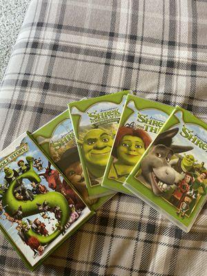 Paquete de 4 películas de Shrek!!! for Sale in Ontario, CA