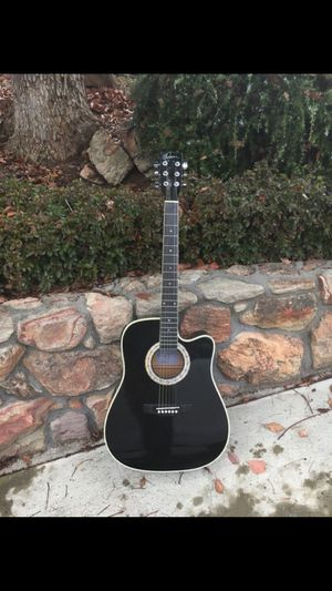 """American Legacy """"midnight steel"""" limited edition Esteban acoustic electric guitar #9712/25,000 for Sale in Pleasant Hill, CA"""