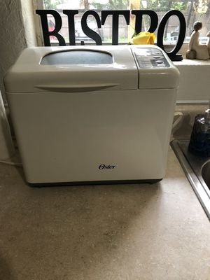 Bread maker, hardly used! for Sale in Tampa, FL