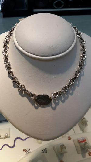 Tiffany &Co Necklace FCP2229 for Sale in Houston, TX