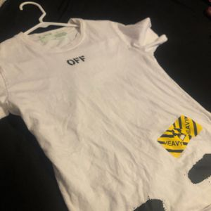 Off White Tee for Sale in Park Forest, IL