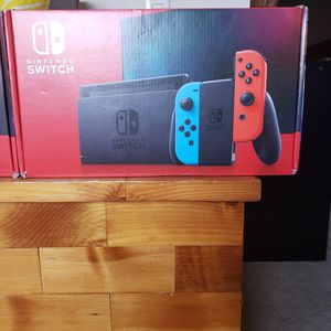 New neon switch console for sale or trade for retro video games for Sale in Brea, CA