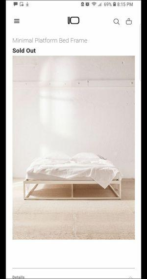 Queen Platform Bed Frame for Sale in Los Angeles, CA