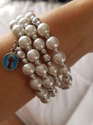 Pearl charm bracelet for Sale in San Francisco, CA